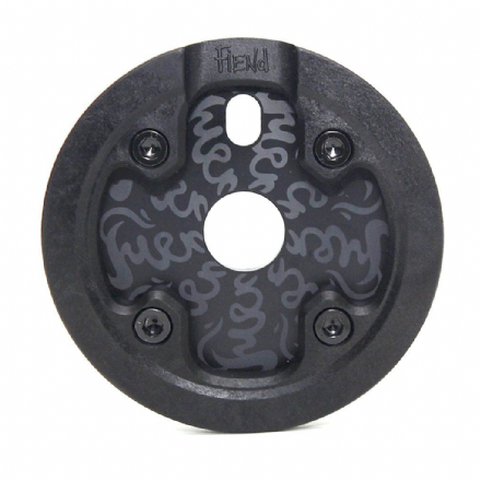 Fiend Varanyak V2 Sprocket With Guard - Black 25 Tooth